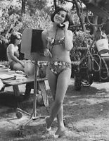 8x10 Print Nancy Kwan Honeymoon Hotel 1964 Set Candid #NKSX