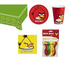 Party Set Angry Birds Party Ware supplies Tableware birthday deco Birthday