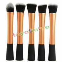 Professional Cosmetic Stipple Fiber Powder Blush Brush Foundation Makeup Tool