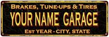 Your Name Garage Vintage Reproduction Metal Sign 106180032002