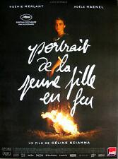 PORTRAIT DE LA JEUNE FILLE EN FEU Affiche Cinéma Originale Pliée Movie Poster