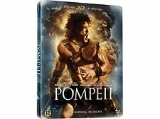 POMPEII (Kit Harrington)  (Steelbook)-  Blu Ray + 3D  - Sealed Region B for UK