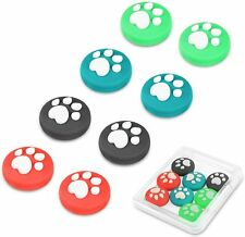 Joystick Cap for Nintendo Switch & Switch Lite - 4 Pairs (8pcs) Silicone Cover