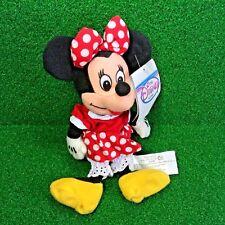 NEW Disney Store Mini Bean Bag MINNIE MOUSE Iconic Walt Disney Plush Toy - MWMT