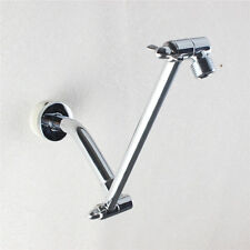 9 Inch Brass Chrome Adjustable Height Shower Arm Extension Universal Showering