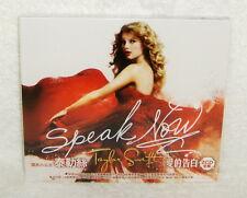 Taylor Swift Speak Now Taiwan Limited 2-CD w/BOX
