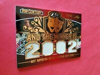 CATHERINE ZETA JONES WORN RELIC WARDROBE SWATCH CARD #21/50 20 LEAF POP CENTURY