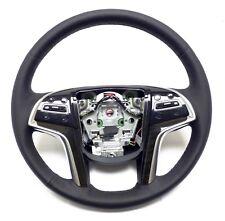 2015-2017 Cadillac Escalade Steering Wheel Black Lather, Stitches 23360992
