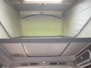 """Mazda Bongo,Ford Freda """"Cat Flap"""" roof modify conversion for easy access"""