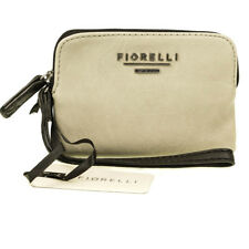 Fiorelli Lexi Cream Grey Small Wristlet Wallet Coin Purse