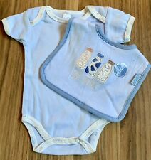 Got Milk? Bodysuit With Matching Bib ~ Size 0-3 Months ~ New