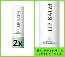 Duo Lip Balm 9,6 g Dr Eckstein BioKosmetik Vorbeugung trockener spröder Lippen