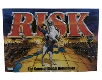 RISK 1998 Vintage Board Game Parker Brothers Hasbro