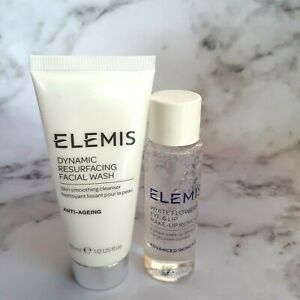 Elemis Dynamic Resurfacing Facial Wash 30 ml & Make Up Remover 28 ml BNWOB
