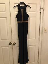 Navy Blue Prom Dress Size 0