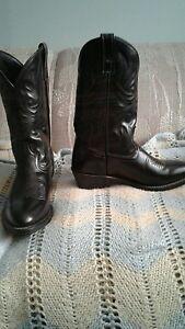 Laredo Men's Cowboy Leather Boots Black 4240