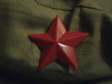 Men Chinese People's Liberation Army-style flat cap,Red 5 star hat