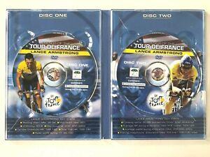 LEGENDS OF THE TOUR DE FRANCE ~ LANCE ARMSTRONG ~2 DISC PAL DVD SET ~150 MINUTES