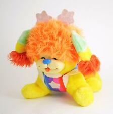 """Vintage 1983 Puppy Brite Rainbow Brite Dog Mattel Plush Stuffed Animal Dog 10"""""""