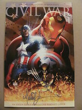 Civil War #1 Marvel Aspen Exclusive Michael Turner Signed Rarest Variant 9.6 NM+