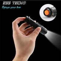 Lampe de poche LED Ultra lumineux Zoomable Q5 2000LM Mini torche vélo étanche