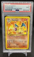 PSA 9 Charizard Legendary Collection Non Holo #3 Pokemon Card 2002 *POP 145*