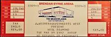 **** NEIL DIAMOND **** - FULL & UNUSED CONCERT TICKET - 1982 - Meadowlands - NJ