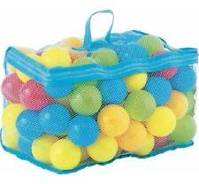 100pc niño bebés Soft Play bolas de plástico colorido aplastar frijoles Niños Divertido Juego