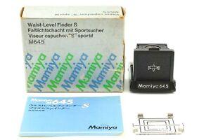 【Unbenutzt IN Karton】 Mamiya M645 Taille Level Finder S Für 1000S Aus Japan #
