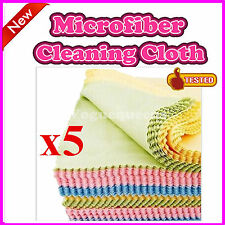 New 5Pcs Microfiber Phone Screen Camera Lens Glasses Cleaner Cleaning Cloth