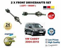 Pour VW Caddy + Van De 1.6 2.0SDi 2005-2010 Neuf 2X avant Gauche + Droit Arbre
