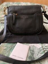 Marc Jacobs Crossbody Bag - Black Leather - Small - Preloved