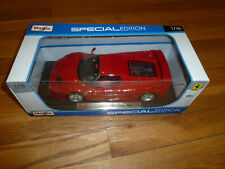 Maisto RED Ferrari F50 CLOSED TOP (CLOSE Top) 1:18 Limited Special Edition NEW