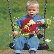 "Baby Boys Sweater and Toy Humpty Dumpty Knitting Pattern DK 18-28"" 1018"