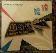 Silver Games Maker Pin London 2012