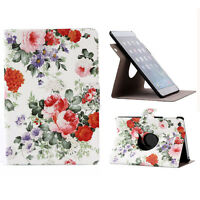 New 360 Rotating Floral Flip Stand Case Cover For iPad Mini 1 2 3 Retina Elegant