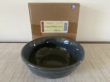 Longaberger Woven Traditions Pottery Pewter Cereal Bowl (New In Box)