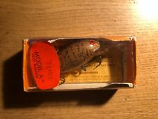 "Bomber Lures "" DEEP RUNNER "" model A  vintage lure in box 4"