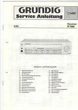 Grundig Service istruzioni manual R 7200 b402