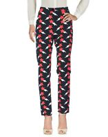 Pantaloni Donna BLUGIRL FOLIES Made in Italy I193 Multicolore Affusolato Tg 44