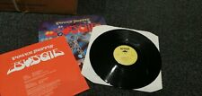 BUDGIE - POWER SUPPLY. 1980 VINYL LP FIRST UK PRESS A1/B1 + INSERT. ALL VG+ COND