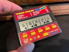 Radica Pocket VIDEO POKER 410 Vintage Electronic Handheld Game Royal Flush 2000