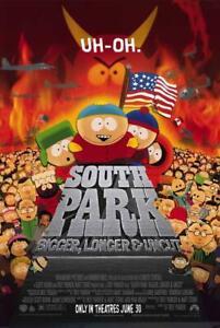 South Park: Bigger, Longer and Uncut Movie POSTER 11 x 17 Trey Parker, A