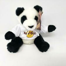 "Hard Rock Cafe Tampa Bay 8"" Tall Panda Hoodie Bear Plush NWT 2017"