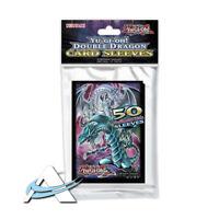 50 Bustine Protettive Mini Japanese Size Yu-Gi-Oh! • Double Dragon Doppio Drago