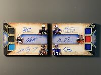 2014 Topps Tripple Threads Auto RC's Booklet Mike Evans / Odell Beckham ++ SP /9