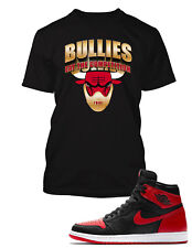 9fb68f3f64b070 Bullies Tee Shirt to Match Air Jordan 1 Homage To Home Mens Graphic T Big  Tall