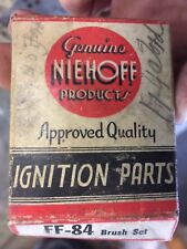 NOS NIEHOFF Generator Brush Set FF-84 FF84 New F 14