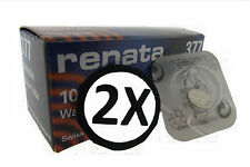 Watch Batteries 2x Renata Watch Battery Swiss Made Silver Oxide [ All Sizes ]