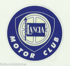 Lancia  Sticker Decal 64mm dia. x 2 - Two Stickers Delta Y10 Fulvia Gamma Club